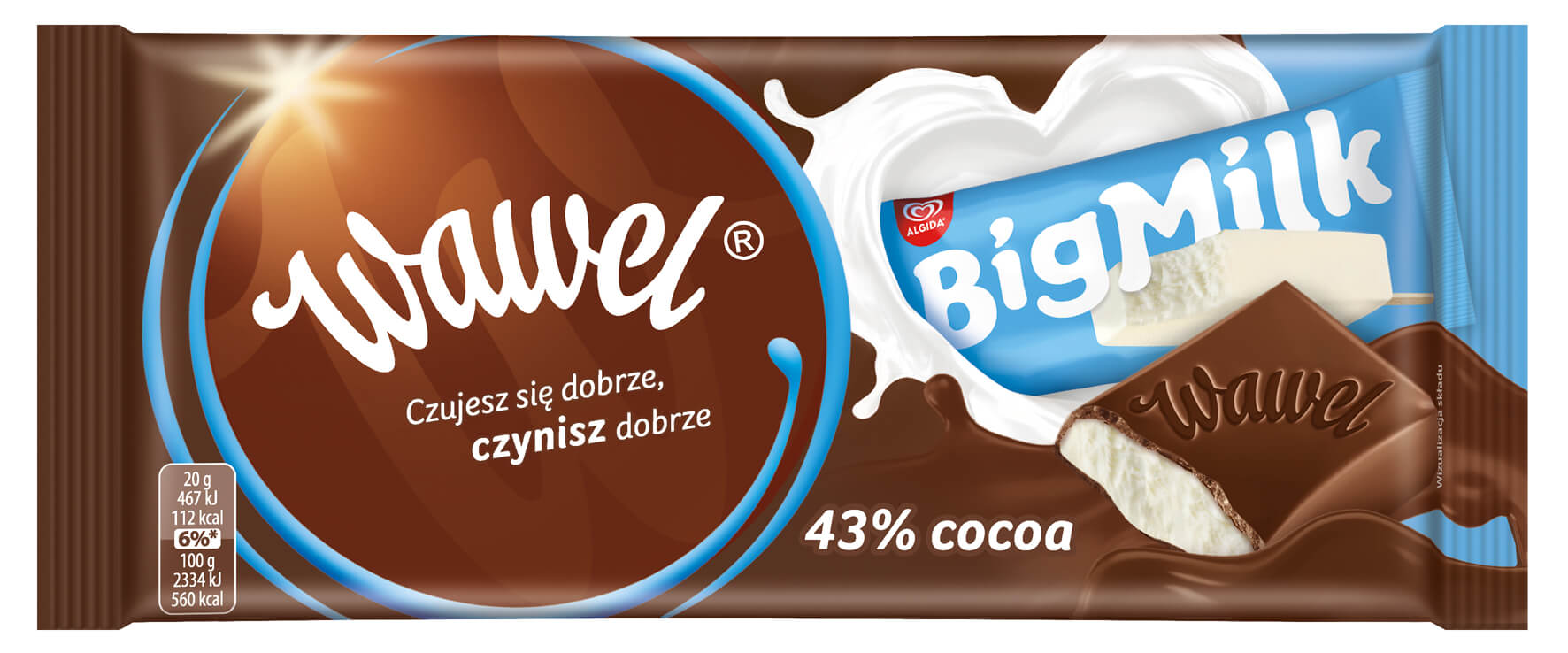 Czekolada Big Milk 100g